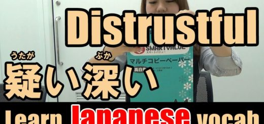 distrustfu japanese