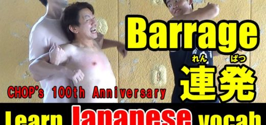 barrage japanese