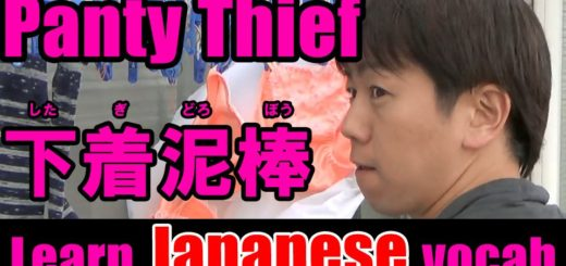 panty thief japanese