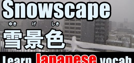 snowscape Japanese